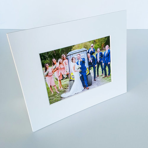 Photo Mounts With Built In Stand 4x6 5x7 8x10 Prints The