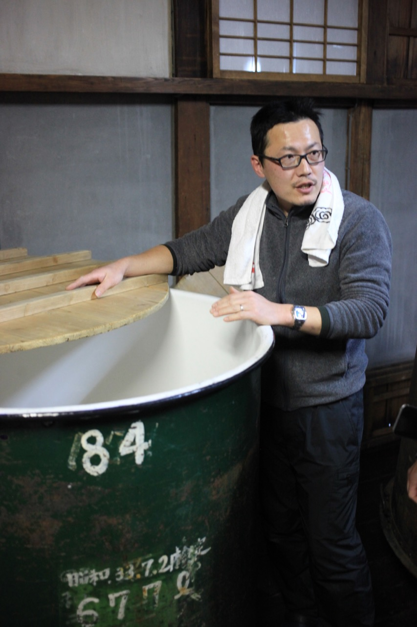 Katsuaki Yamamoto - Toji [Master Brewer] at Fujiichi Shuzo