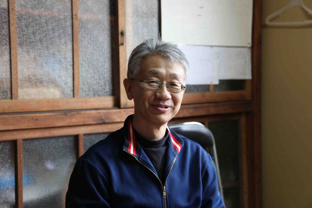 Hiroaki Oku - Kuramoto [Brewery Owner] & Toji [Master Brewer] at Akishika Shuzo