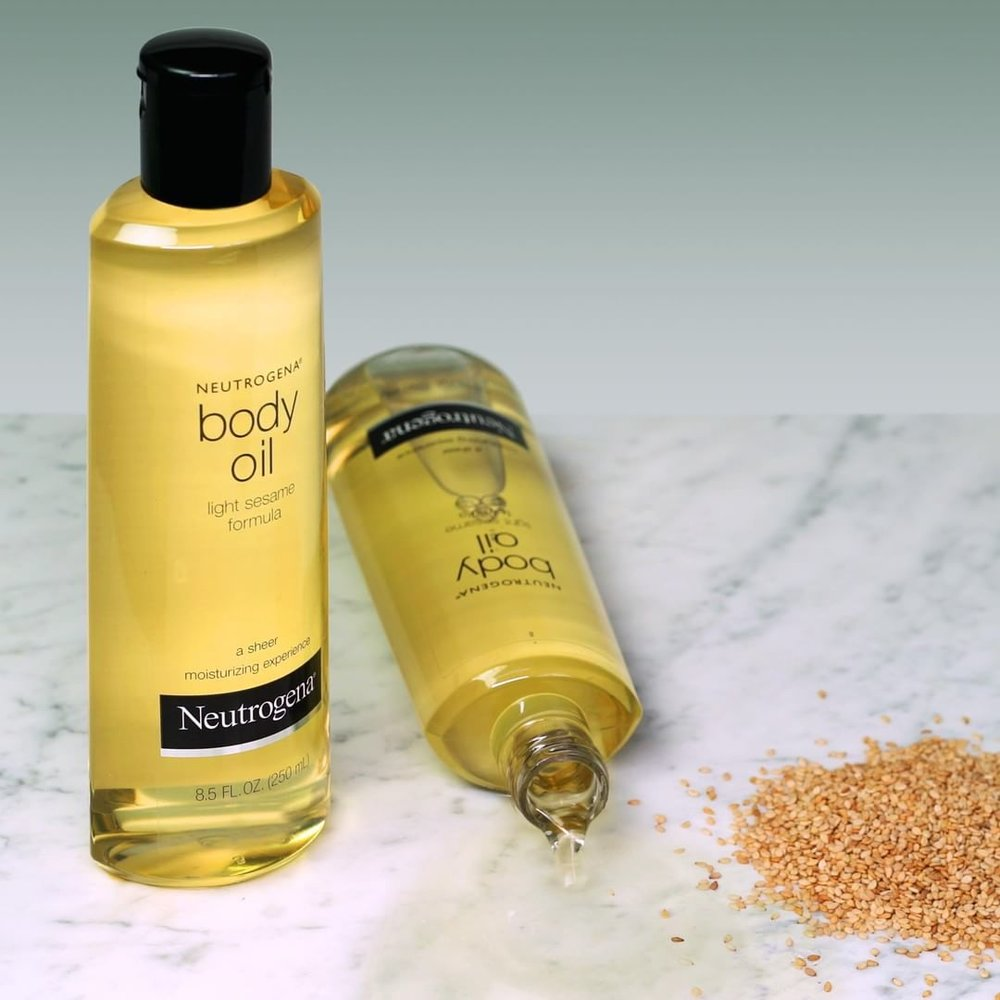 What makes our award-winning  #BodyOil  so special? The whisper-light formula made from sesame seeds.