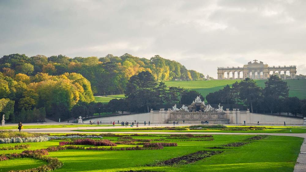 Schloß Schönbrunn, Vienna, Austria