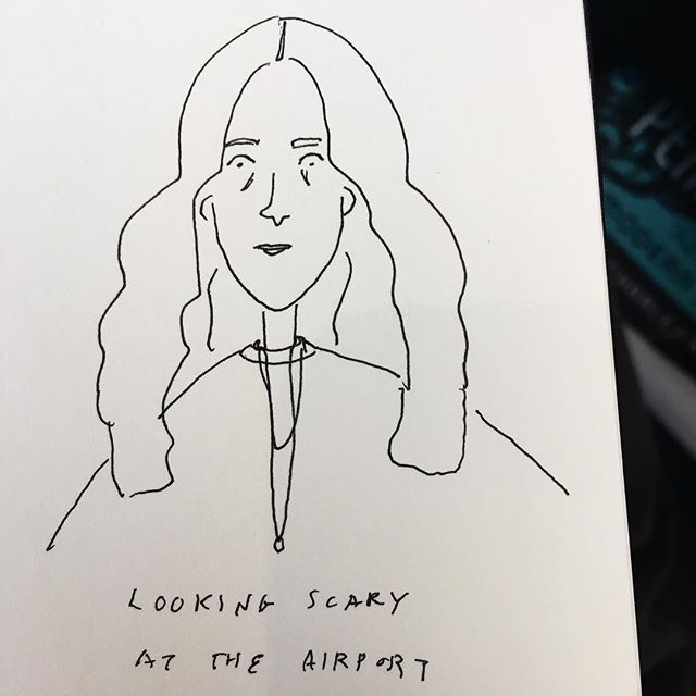 Tried to eulogize what absolute shit I look like at the airport right now and accidentally made myself a New Yorker avatar