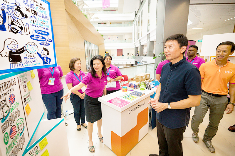 British Council | SkillsFuture Festival 2018, Singapore