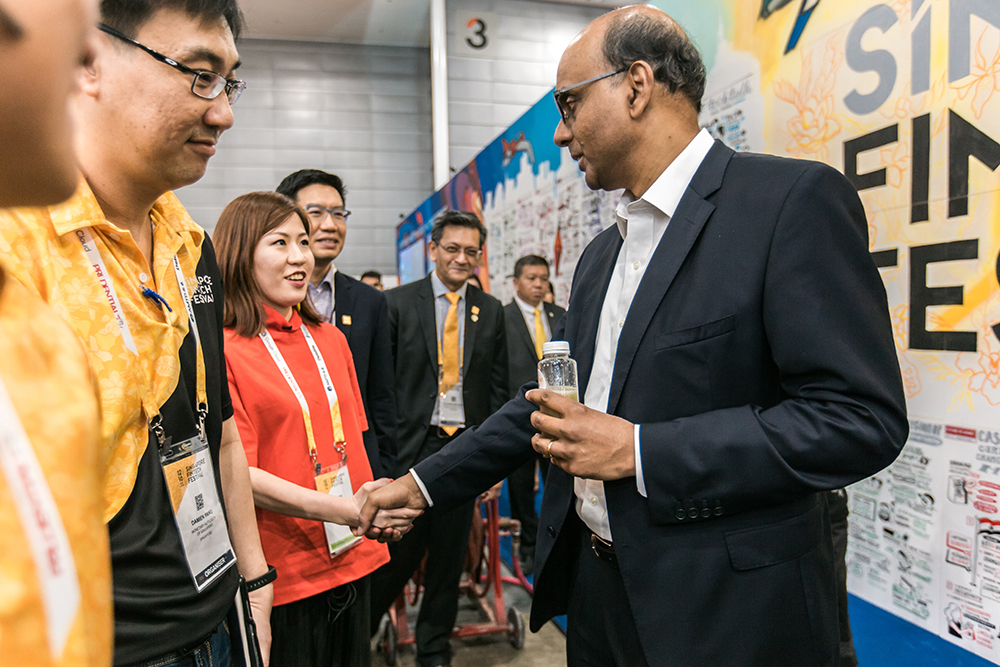 Mr  Tharman Shanmugaratnam , Deputy Prime Minister, Chairman of the Monetary Authority of Singapore (MAS)