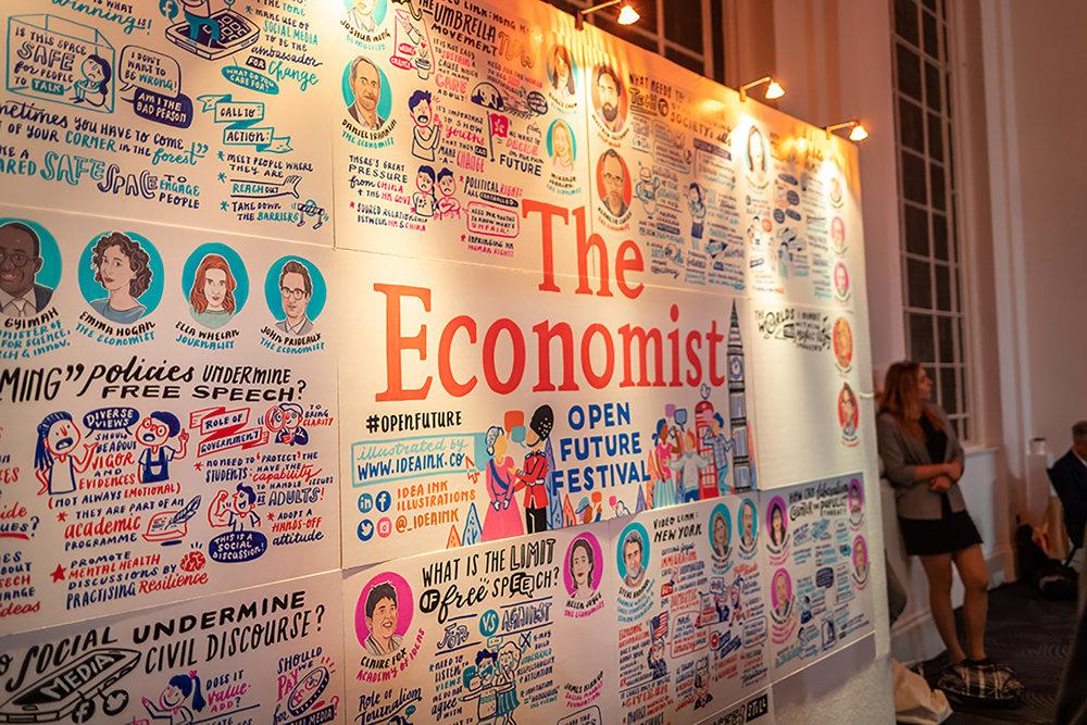 The Economist Open Future Festival | London