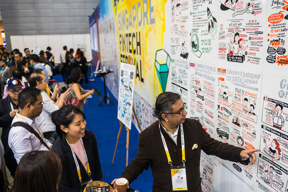 How can an annual global festival continue to deliver impact and significance? - We collaborated with a venue management and consulting company to deliver scale and innovation in the information design space.