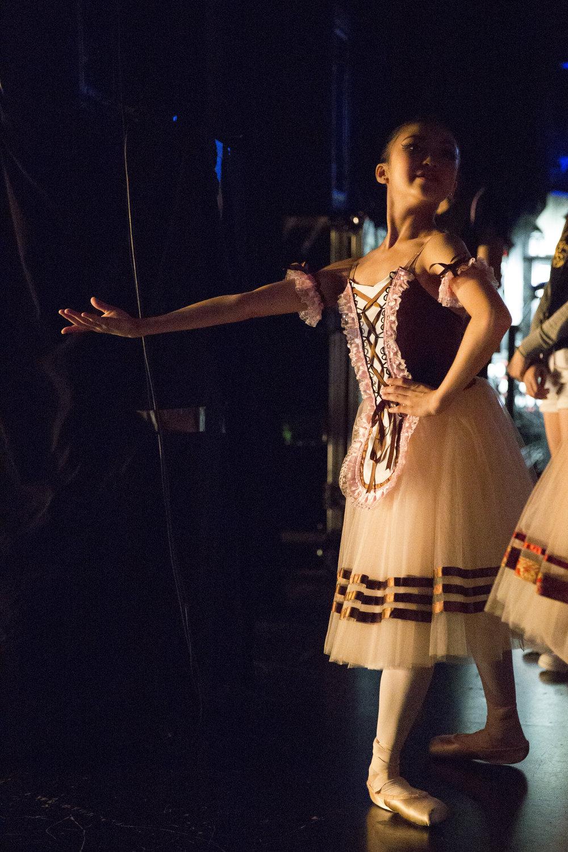 Ballerina, Hong Kong, 2016