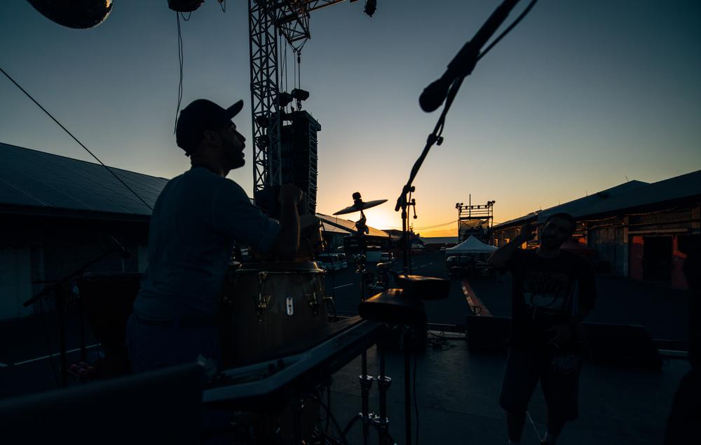 On stage - Festival Kabardock