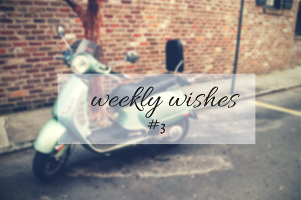 Weekly Wishes | broad & main