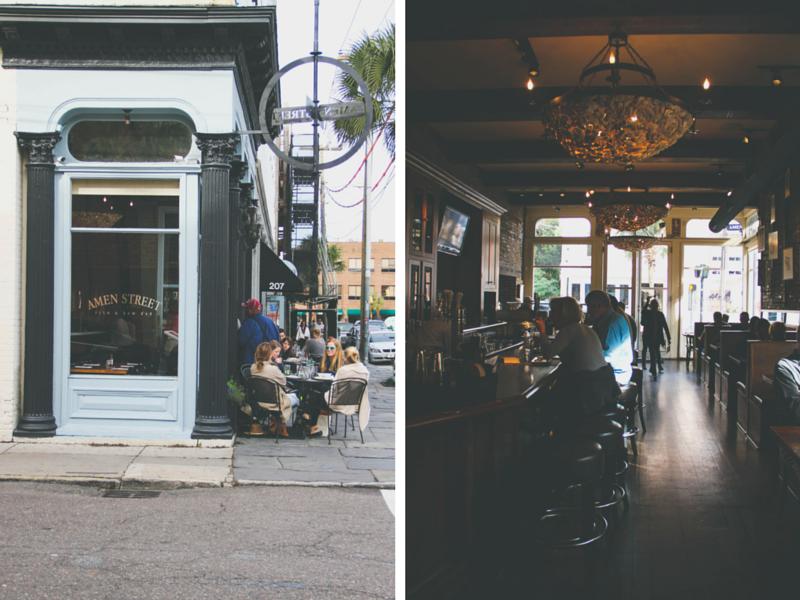 Amen Street Charleston | broad & main