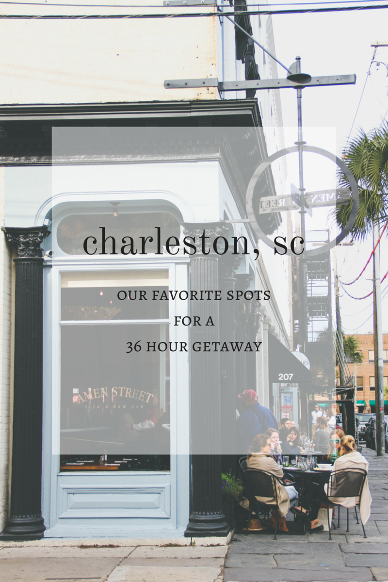 What do to with 36 hours in Charleston| broad & main