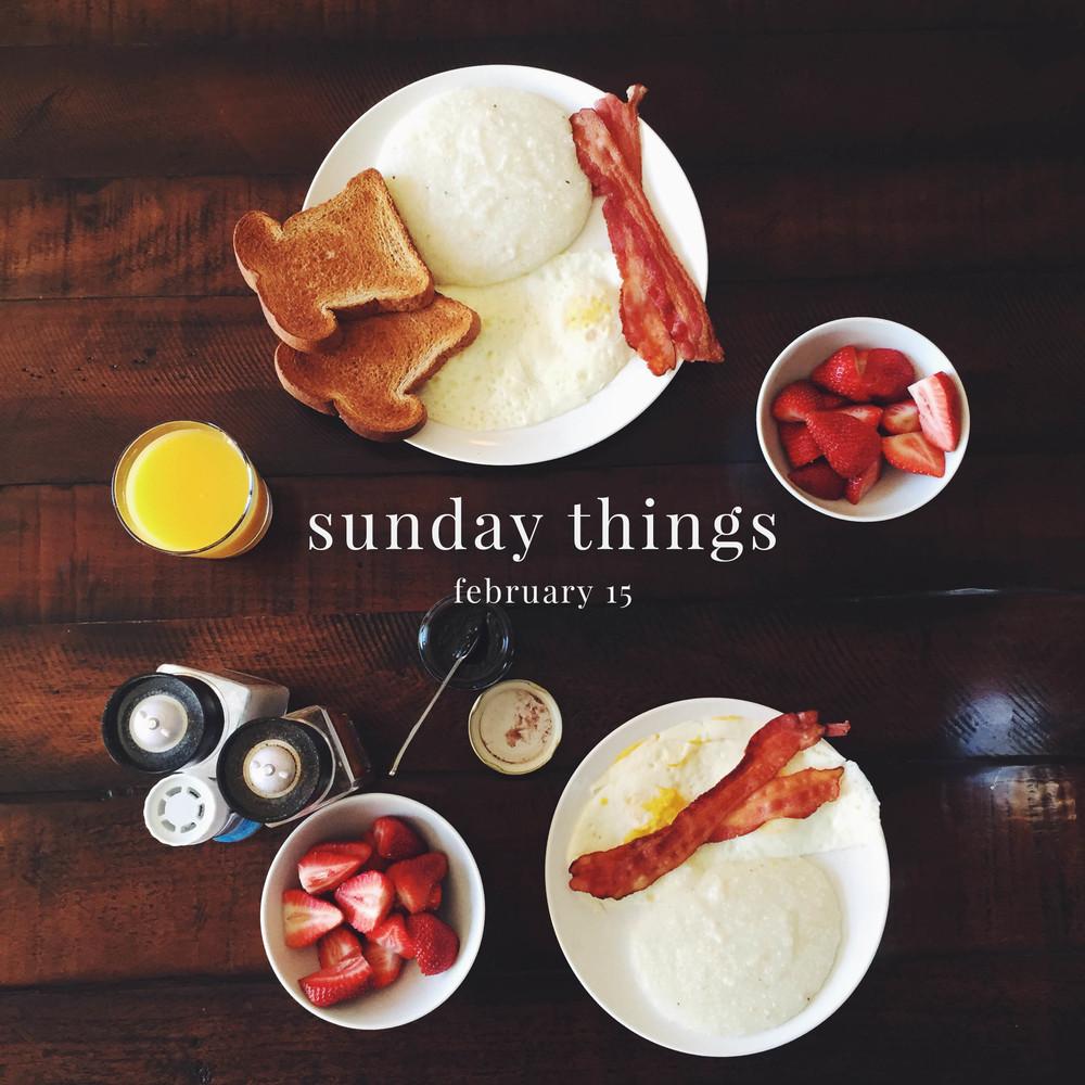 Sunday Things 1 | broad & main