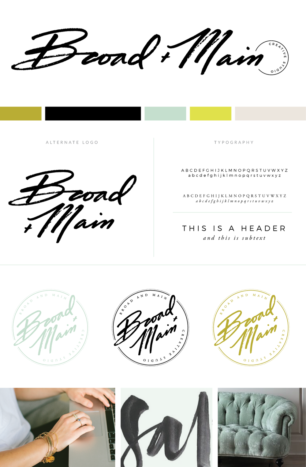 Broad + Main Branding and Design