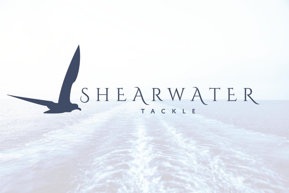 Shearwater Tackle Custom Logo Design