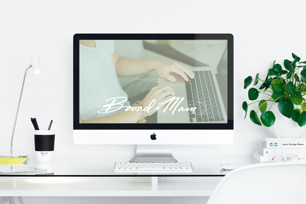 Broad + Main Website Design