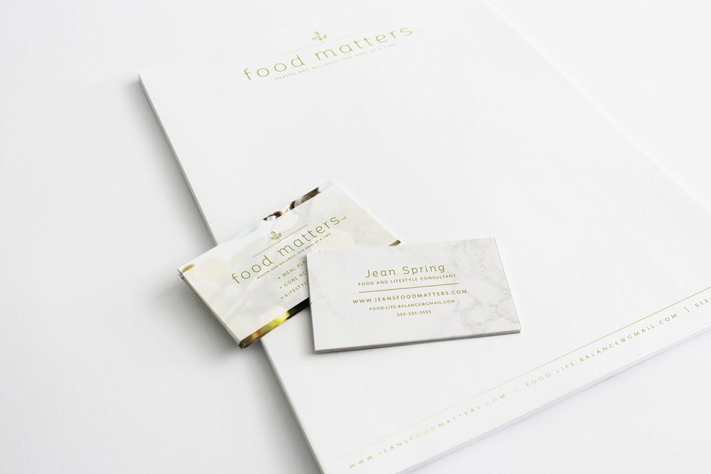 Food Matters Brand Design by Broad + Main