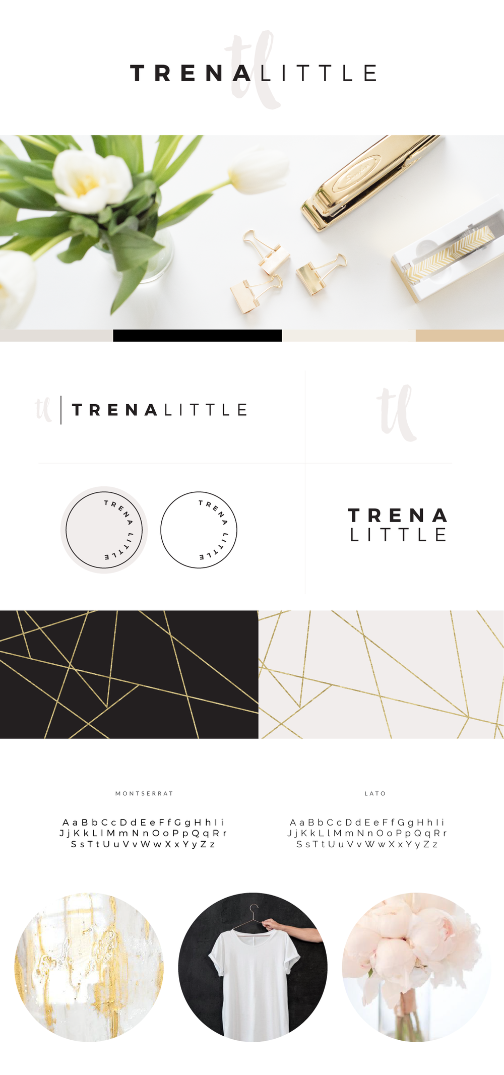 Trena Little | Brand and Squarespace Design by Broad + Main
