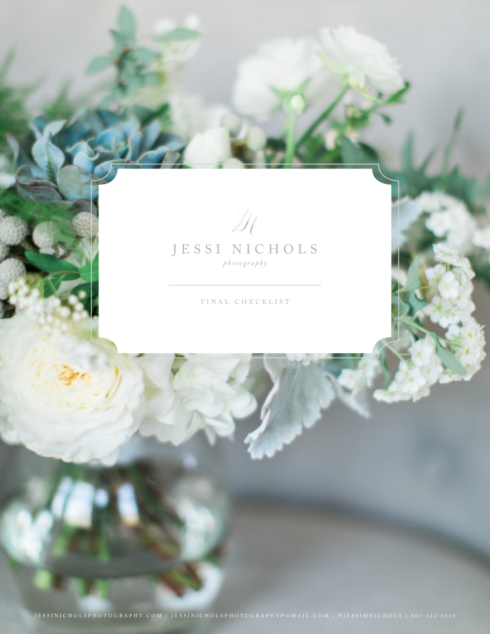 Jessi Nichols Photography Brand Design