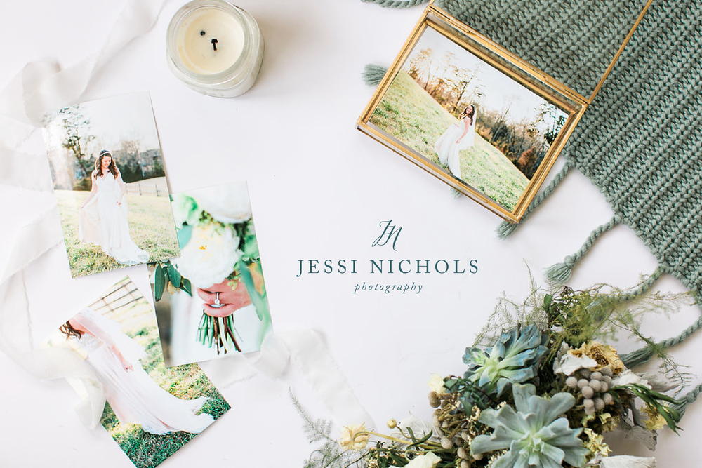 Jessi Nichols Photography Brand Design by Broad & Main