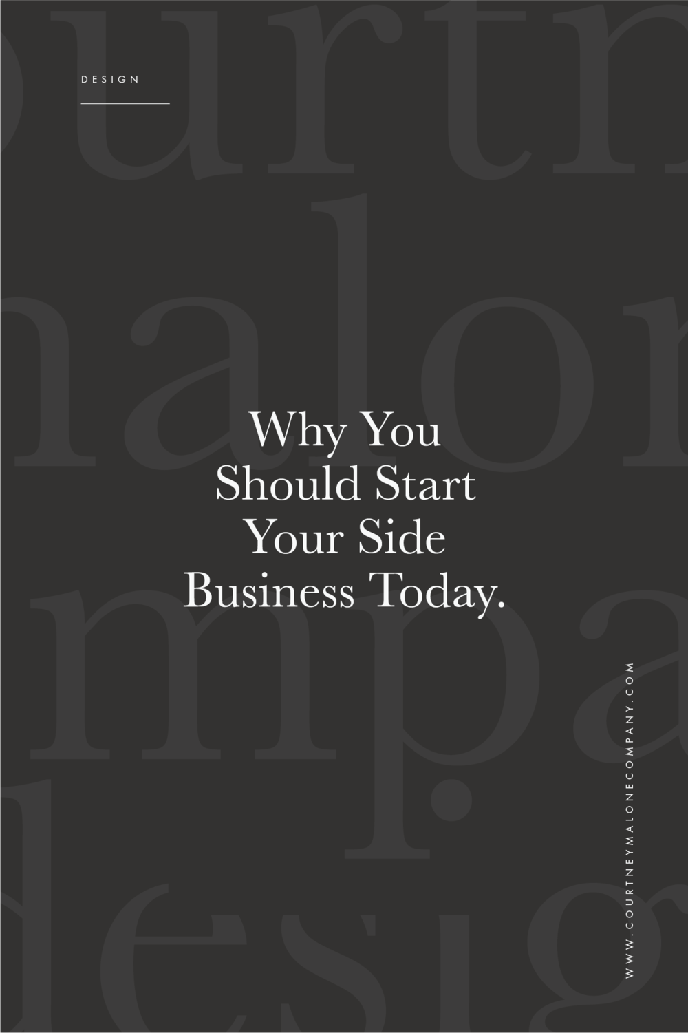 why you should start your side business today courtney malone