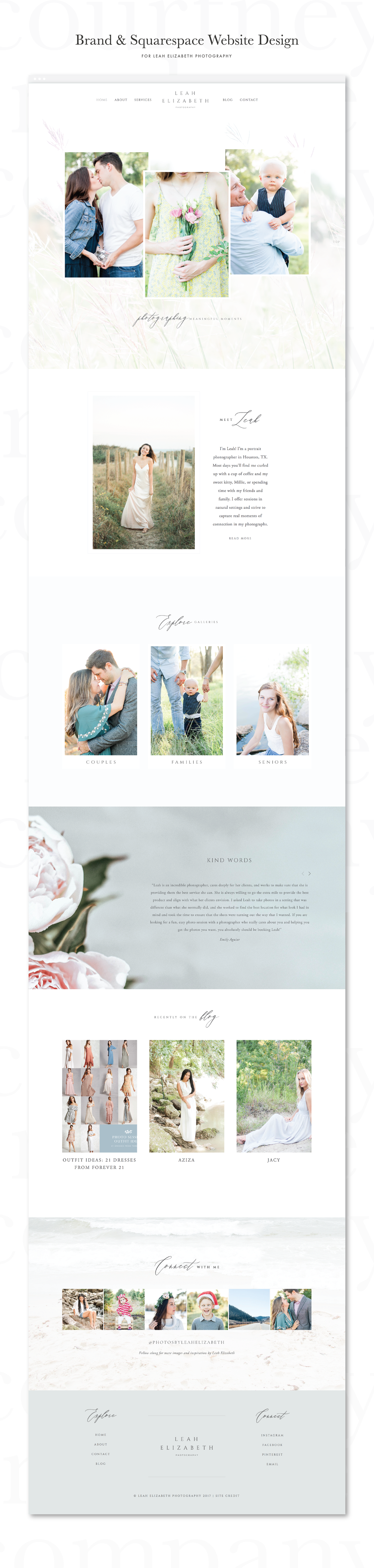 Squarespace Websites for Photographers