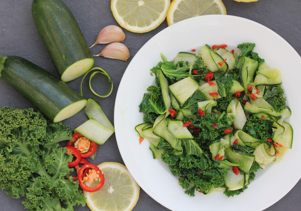 Kale, Cucumber and Chilli