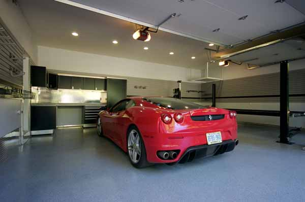 Custom Car in Garage.jpg