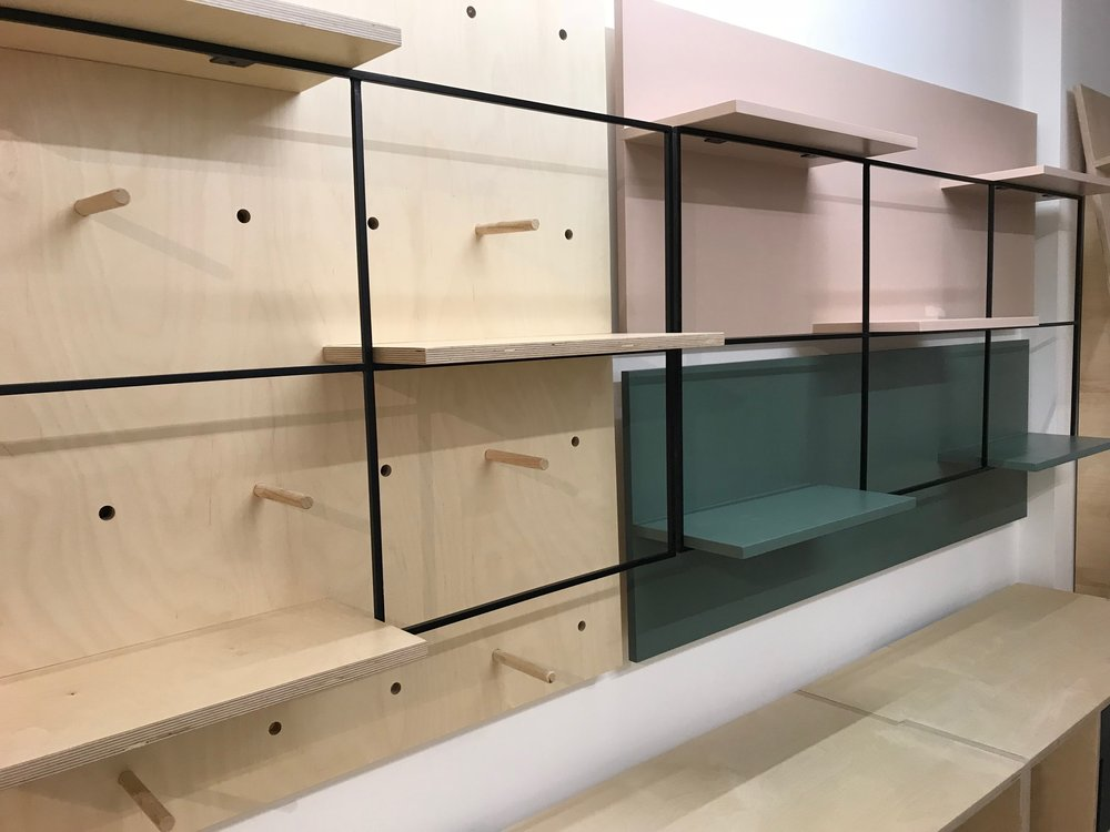 Art Gallery Shop Cabinetry