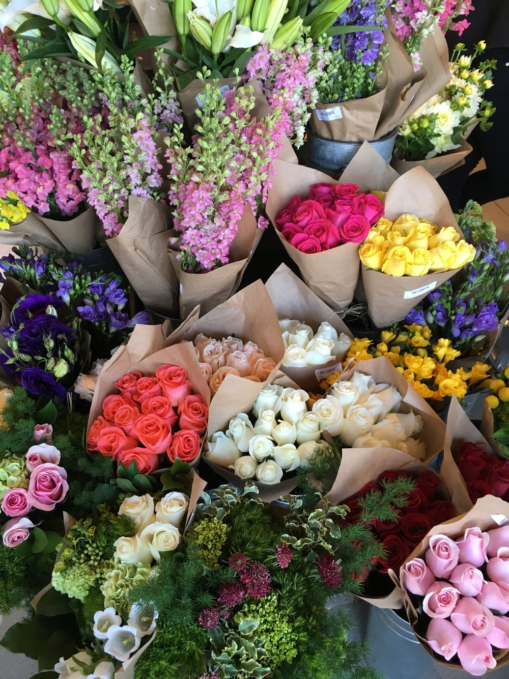 Flawless bouquets at Erewhon Venice