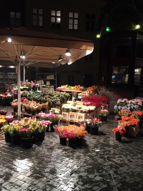 Strøget flower market