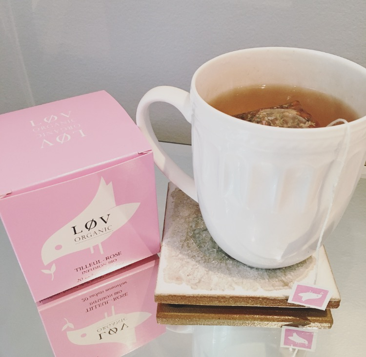 Obsessed with this rose tea