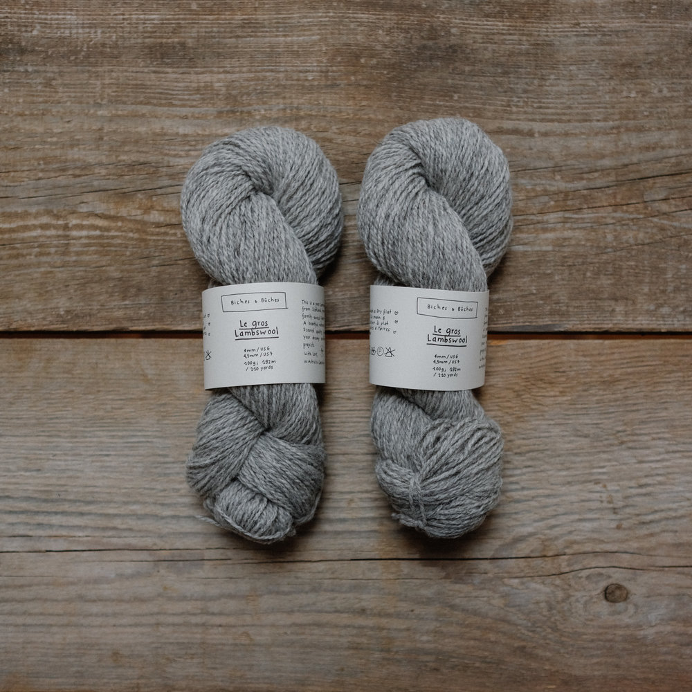 you can see all colors of le gros lambswool  here