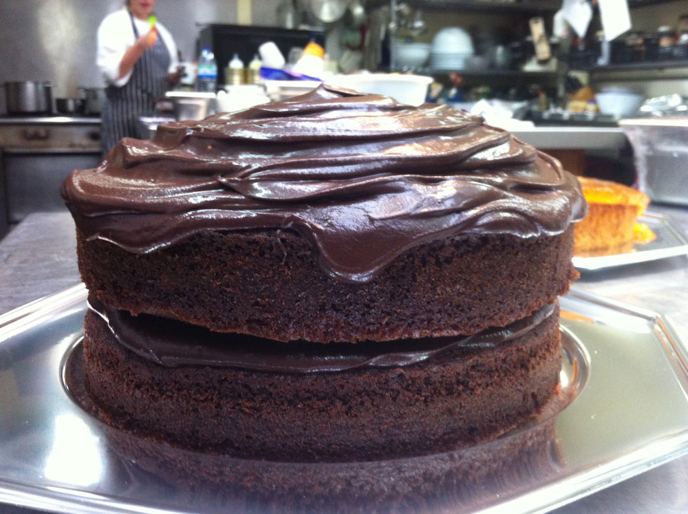 Our 'Can't Go Wrong' All Star Chocolate Cake!