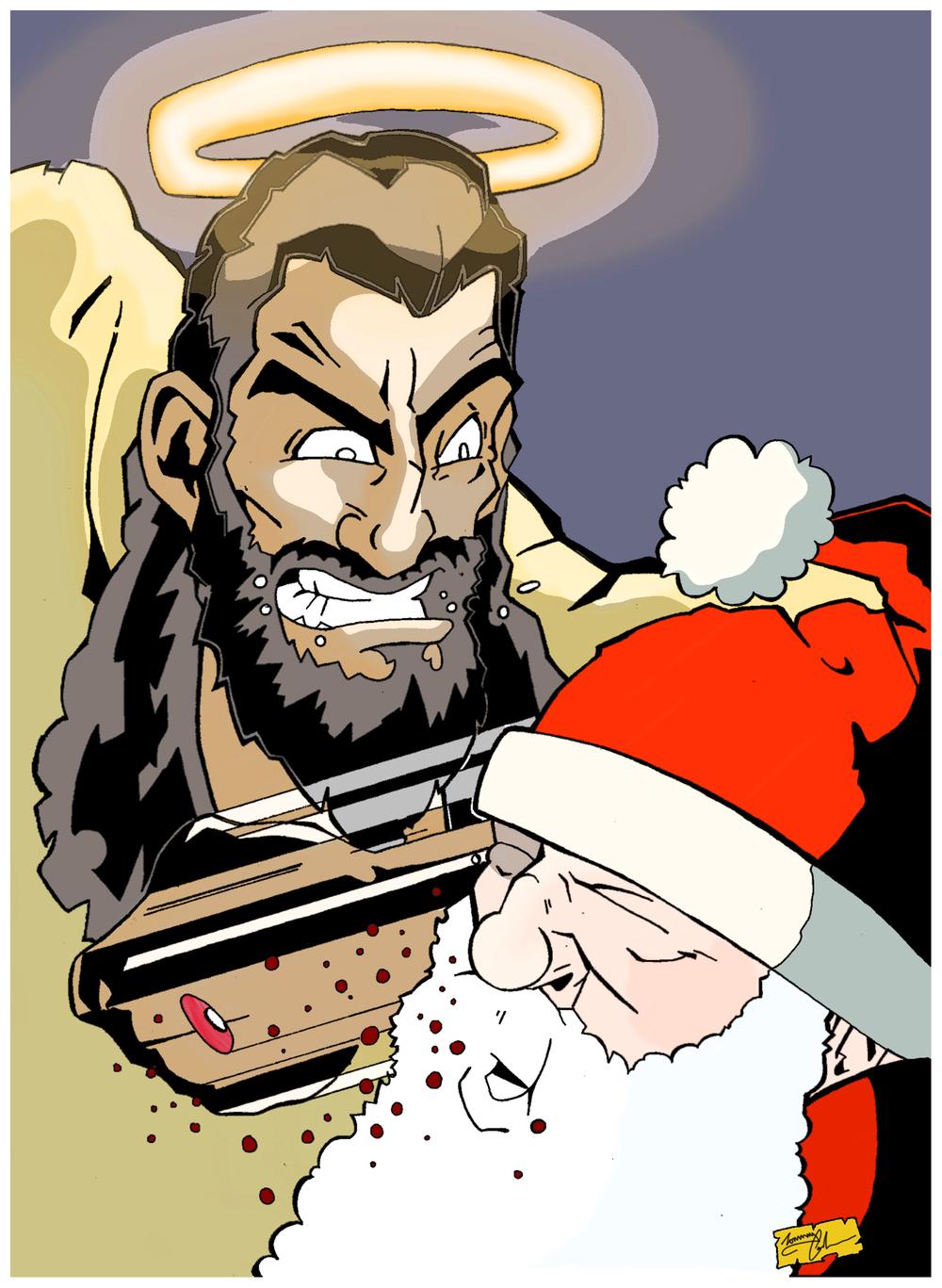 Jesus v's Santa