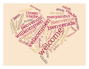 Meerdere talen Facebookpagina