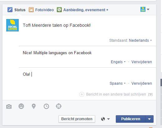 Taal Facebook