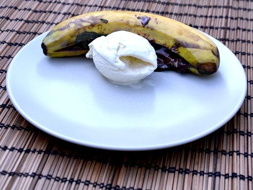 banaan chocolade bbq