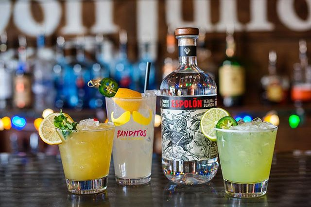: Cheers to Friday feels! 🍹 • Extended Happy Hour till 10pm ~ every Friyay! 🍻🎉 . . . #tgif #friyay #extended #happyhour #margaritas #fourtwenty #420 #espolon #tequila #mezcal #agave #federalhill #sobo #baltimore #mybmore #banditos #forkithospitality