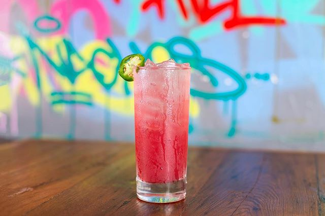 : Today marks Day 1 of ALS Bites month! A portion of the proceeds from this juicy cocktail will be donated to the @brigancebrigade ~ come support the cause! 🍹 • 📸: Weekend at Birmys / tequila + watermelon + hibiscus + jalapeño + lime juice. . . . #alsbites #brigancebrigade #supportthecause #craft #cocktail #tequila #hibiscus #watermelon #jalapeno #limejuice #federalhill #sobo #baltimore #mybmore #banditosbk #forkithospitality