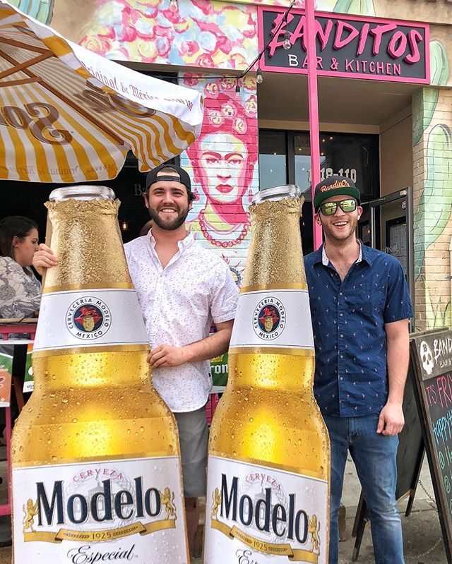 : We wait all year for this day! Happy Cinco de Mayo from our Family to yours! 🎊🍹 • Catch us in the Stadium Square Lot off Ostend ~ Live Music + full bars + bomb food + games for all! 🎸🎶😎 . . . #cincodemayo #bestholidayoftheyear #blockparty #livemusic #tacos #funforall #mexicaneverything #modelo #goonsquad #federalhill #sobo #baltimore #mybmore #banditosbk #forkithospitality