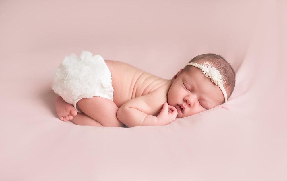 Newborn Photography in Studio, Tega Cay, SC