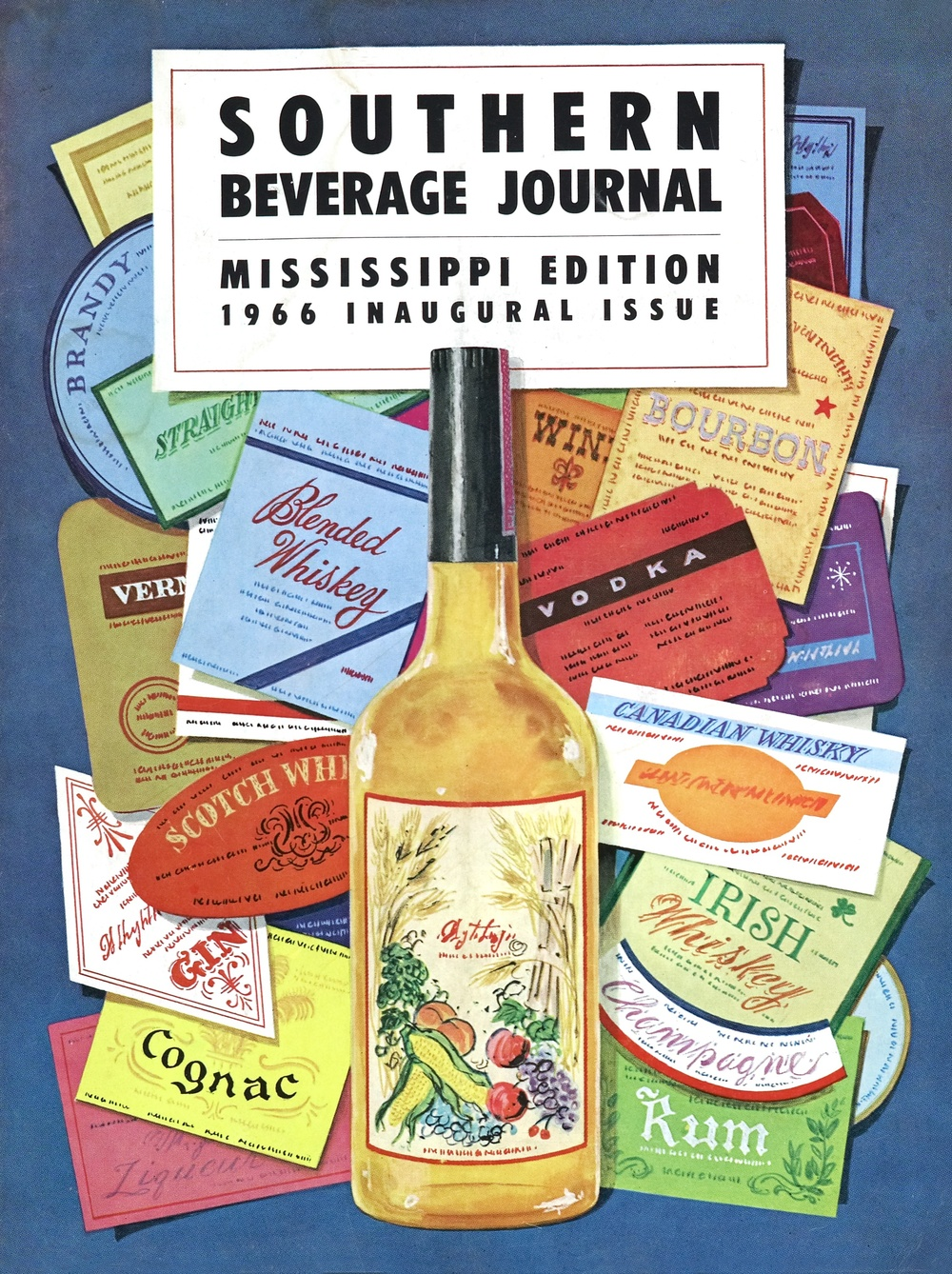 MISSISSIPPI 1966 INAUGURAL ISSUE PRODUCT LIST FOR RETAILERS
