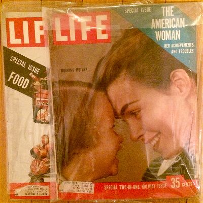 vintage life magazine the american woman