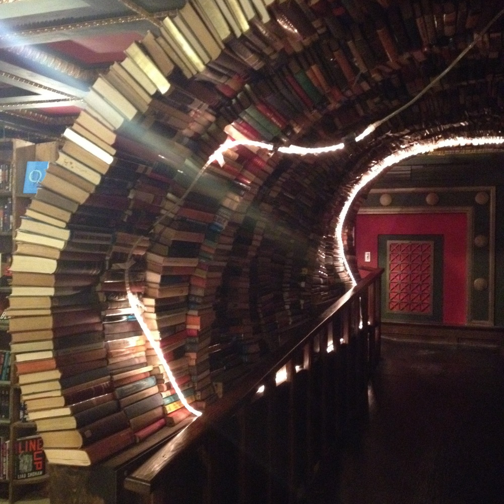 The Last Bookstore archway
