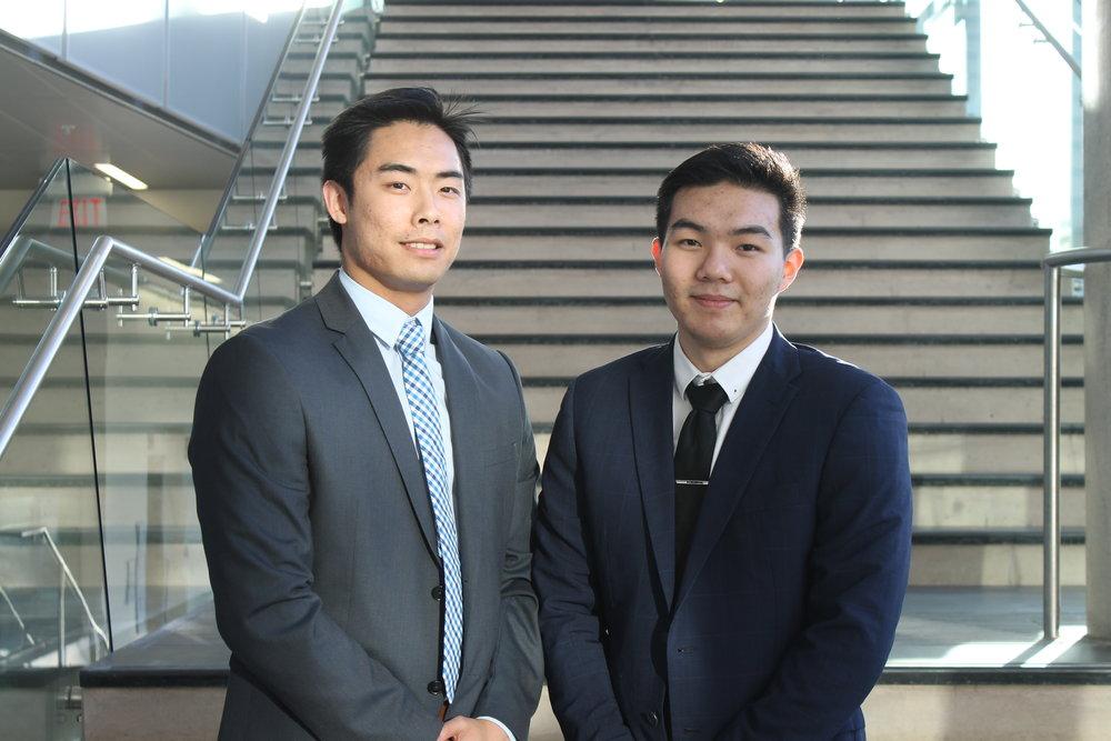 Vincent Lau & Justyn Ho