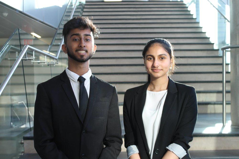 Dhruv Shah & Jasmeen Pabla