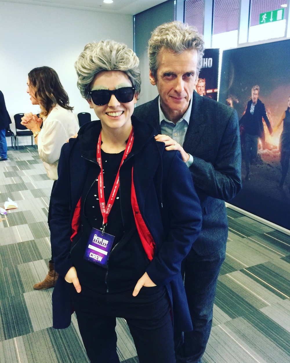 'The Boss' - Peter Capaldi
