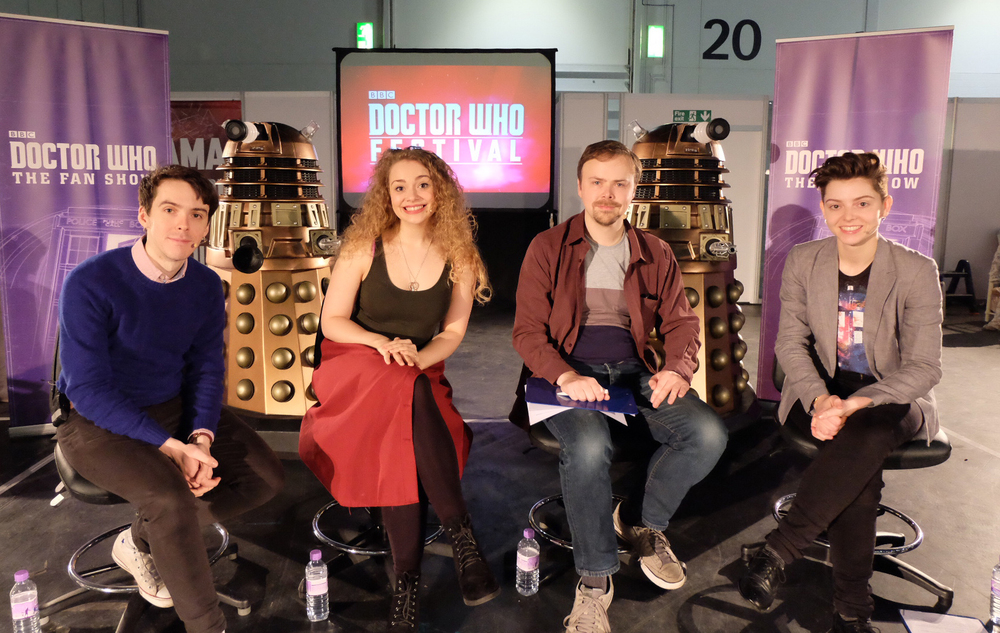 Recording Doctor Who: The Fan Show (live edition) with guests Carrie-Hope Fletcher and Ashens!