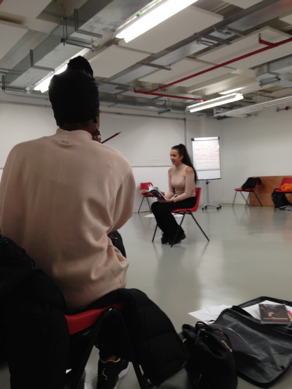 Workshop with S imeilia Hodge-Dallaway