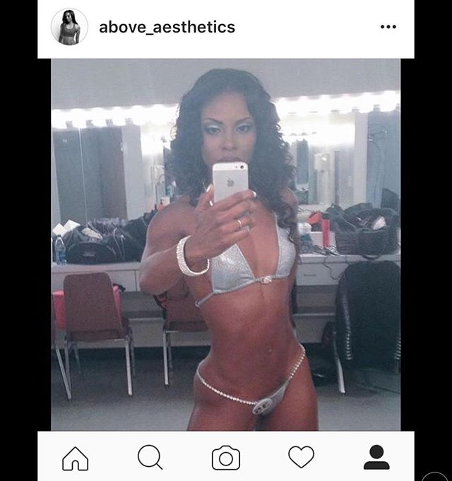 We would like to wish the #beautiful @above_aesthetics #happybirthday ❤️🎉🏋🏽 #tbt to your #npcbikini competition #slaying in your @dhfglam bundles!  #fit #fitfam #love #WhereLuxuryLives #beautifulhair #wcw #instagood #gorgeous